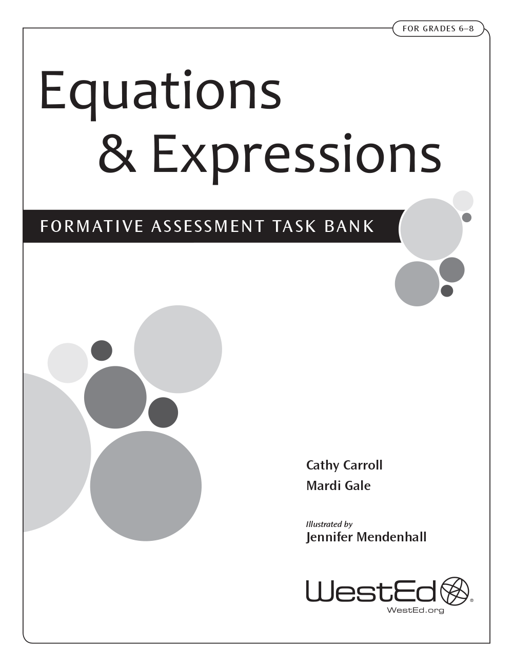 Cover Image For Equations & Expressions: Formative Assessment Task Bank For  Grades