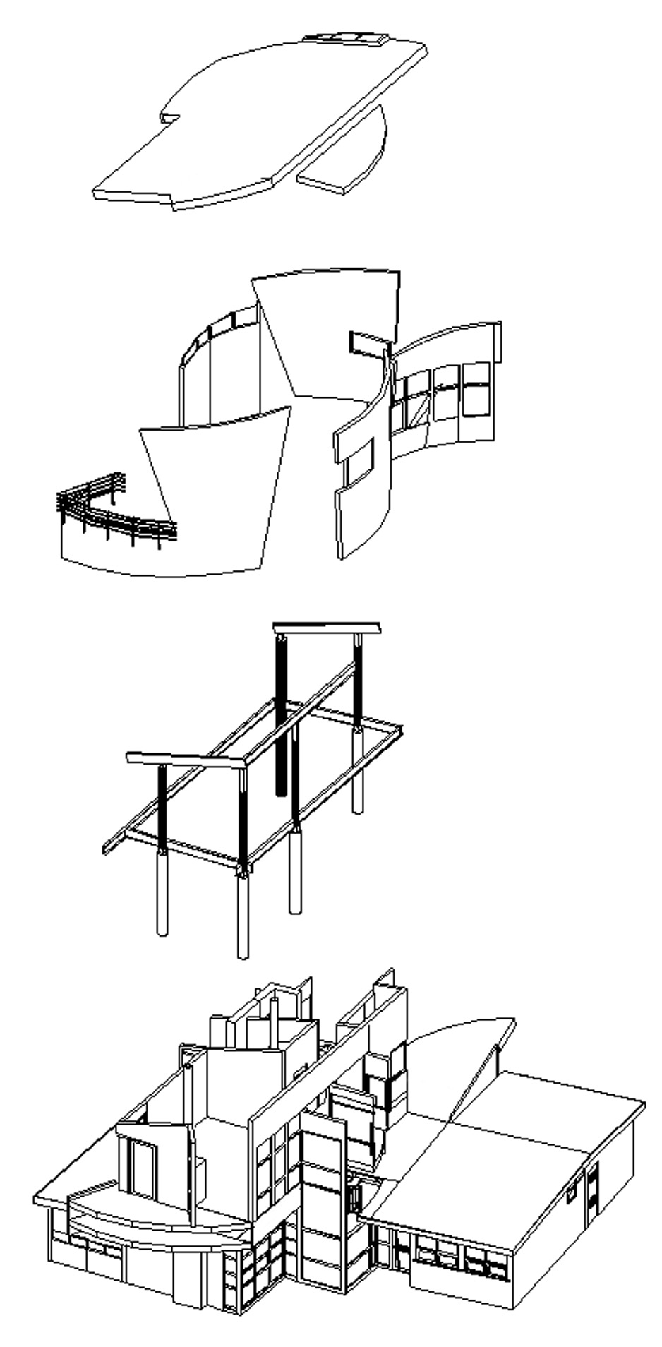 medium resolution of diagram of the essential architectural components of the house