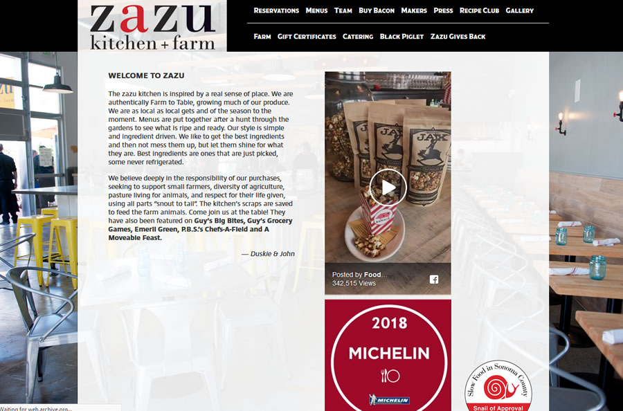 zazu kitchen