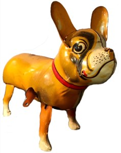 toy wind-up dog