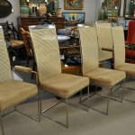 Milo Baughman dining chairs set of 6