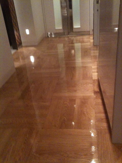 PrimeOaksealedhighglossvarnish  West End Flooring