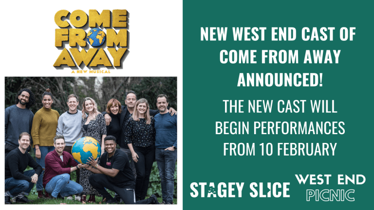 Come From Away announces new West End cast