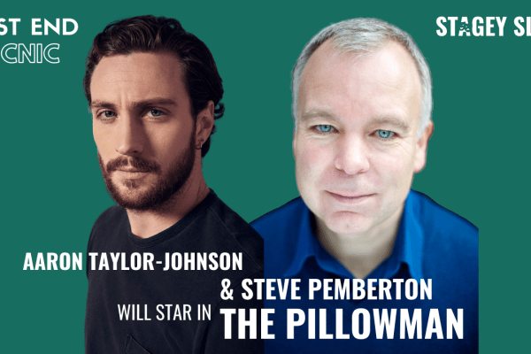 Aaron Taylor-Johnson & Steve Pemberton to star in West End Premiere of Martin McDonagh's The Pillowman