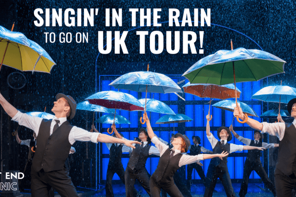 Singin' in the Rain to Embark on 2021 UK Tour