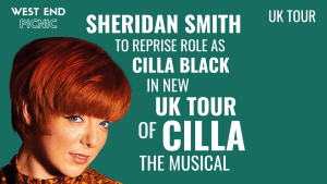 Sheridan Smith to star in Cilla the Musical UK Tour