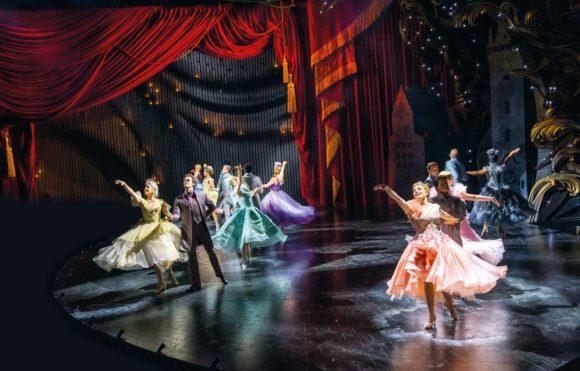 The Ball, Ensemble, Andrew Lloyd Webber's Cinderella, Photo Credit Tristram Kenton