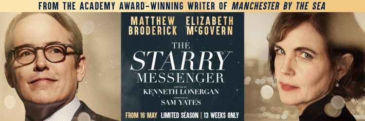 the starry messenger at the wyndham's theatre in London's West End