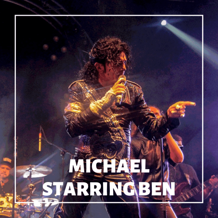 Michael Starring Ben at the London Palladium in the West End
