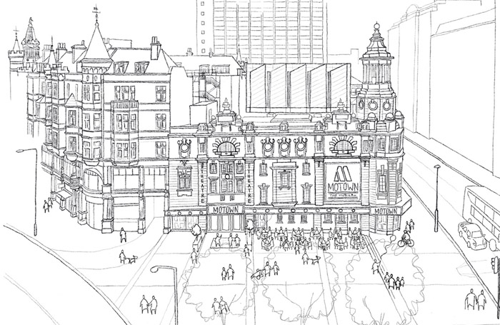 Shaftesbury Theatre is getting a new face