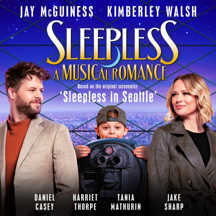 Socially Distanced theatre at Sleepless, A Musical Romance