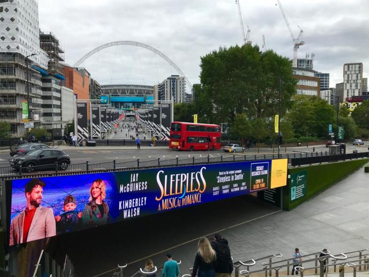 Sleepless, a musical romance at the Troubadour Wembley Park Theatre