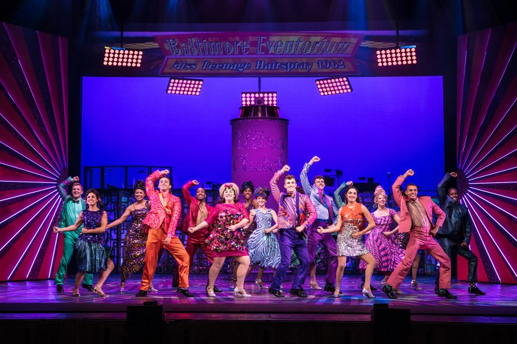 Hairspray at the London Coliseum in the West End, starring Michael Ball