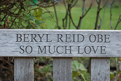 Bery's Reid's bench