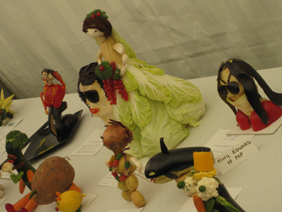 Lambeth Country Show vegetable figures 1