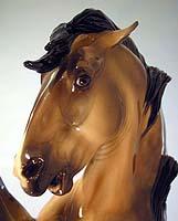 WAR CHANT sculpture by Kathi Bogucki