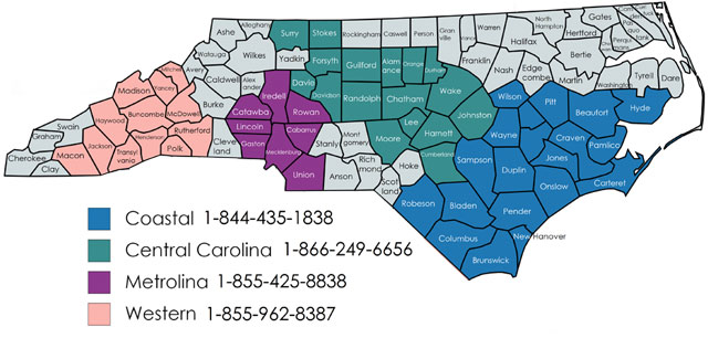 nc-county-map - NCServes - Western : NCServes – Western on