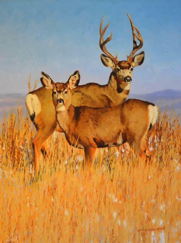 Home - Western And Wildlife Art Rudl Mergleman
