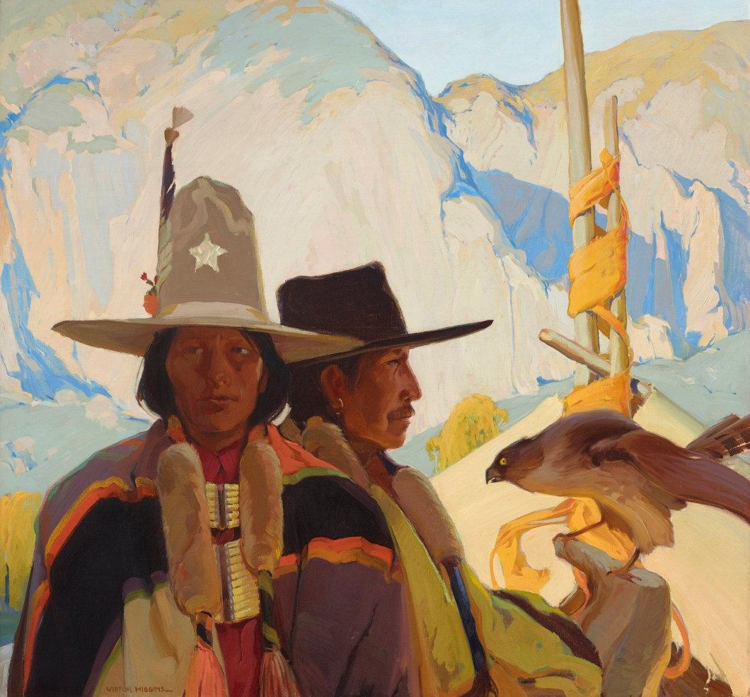 Victor Higgins (American, 1884–1949) Apaches, ca. 1918 Oil on canvas, 40¼ × 43 in. Stark Museum of Art, Orange, Texas, 31.17.14