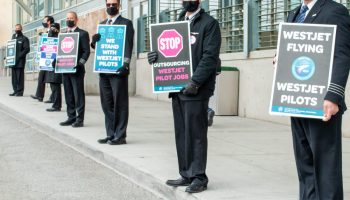 Westjet pilot picket