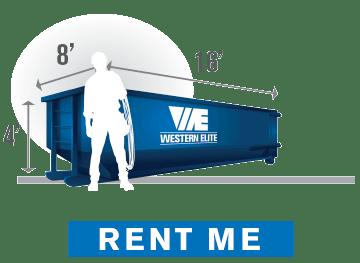 15-yard Dumpster Rental