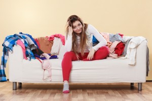 Stress and clutter