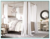 Four Poster Bed With Curtains