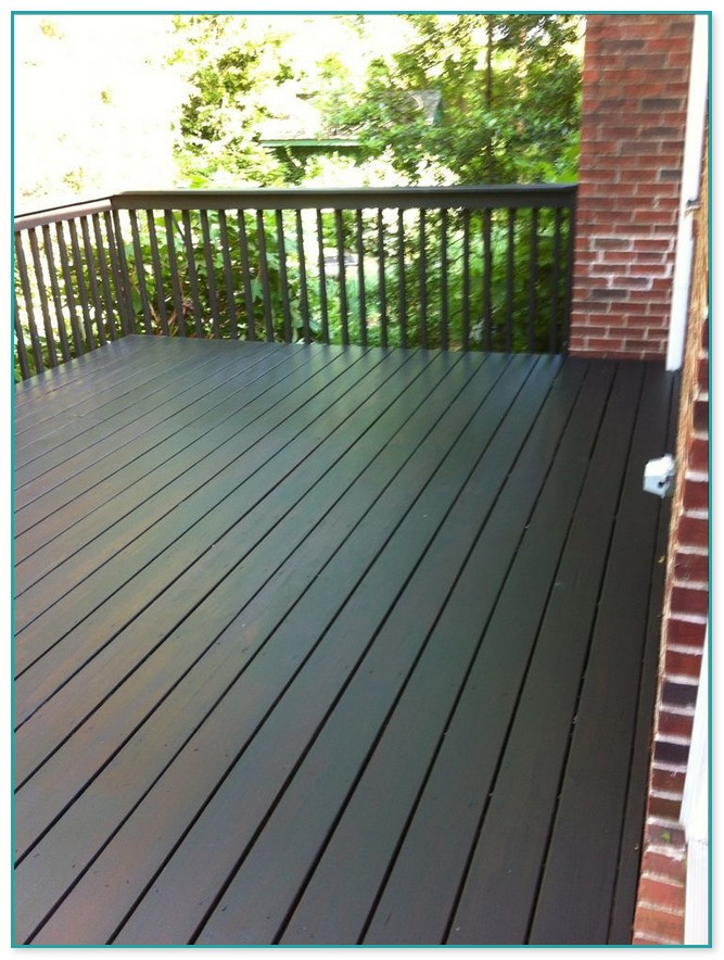 Best Deck Paint Colors