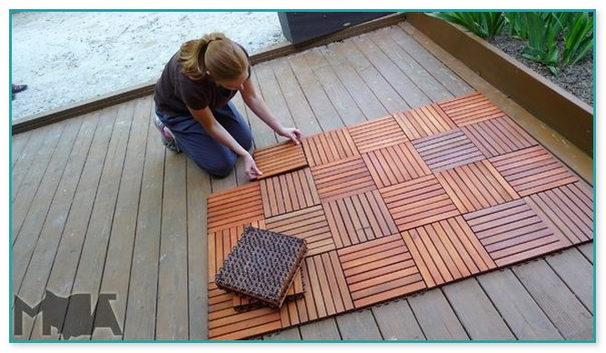 Deck Tiles Over Wood Deck