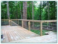 Galvanized Pipe Deck Railing