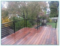 Horizontal Aluminum Deck Railing