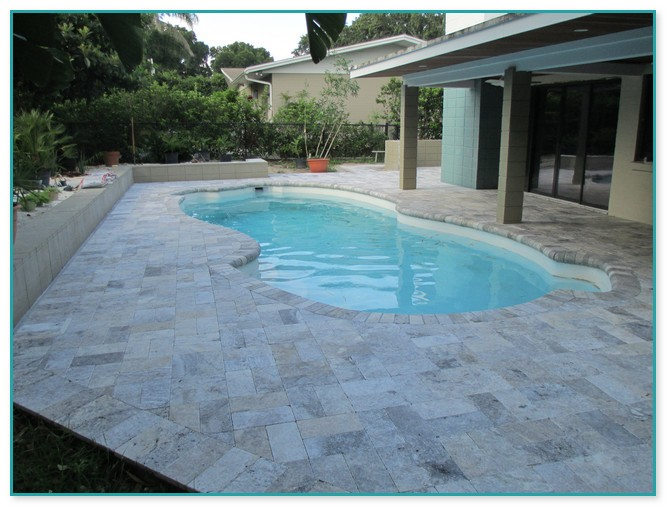 Travertine Pavers For Pool Deck