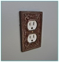 Decorative Electrical Outlet Cover Plates Alluring ...