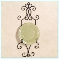 decorative plate hangers - 28 images - metal plate rack ...