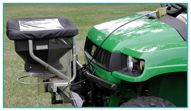 Ride On Fertilizer Spreader