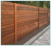 Horizontal Steel Fence Designs