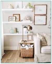 Ideas For Floating Shelves In Living Room