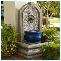 Spanish Style Wall Fountains
