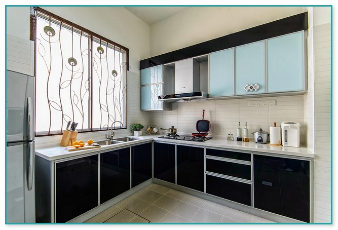Aluminium Kitchen Cabinet Design Malaysia 2