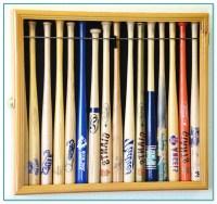 Baseball Bat Display Case Wall Mount 2