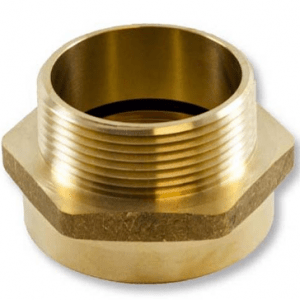 brass fire hose adapter