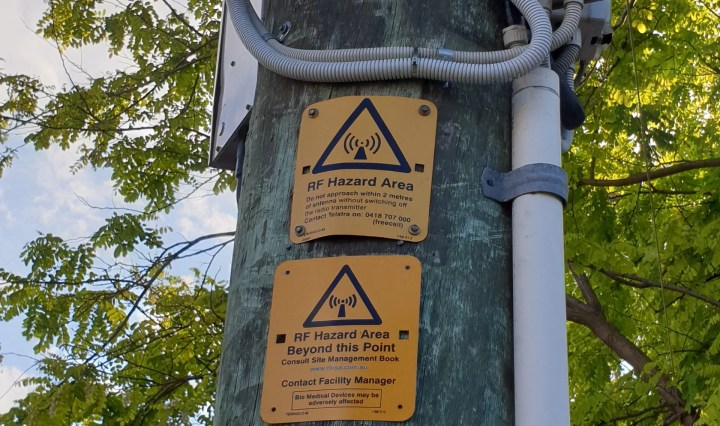 5G RF warnings