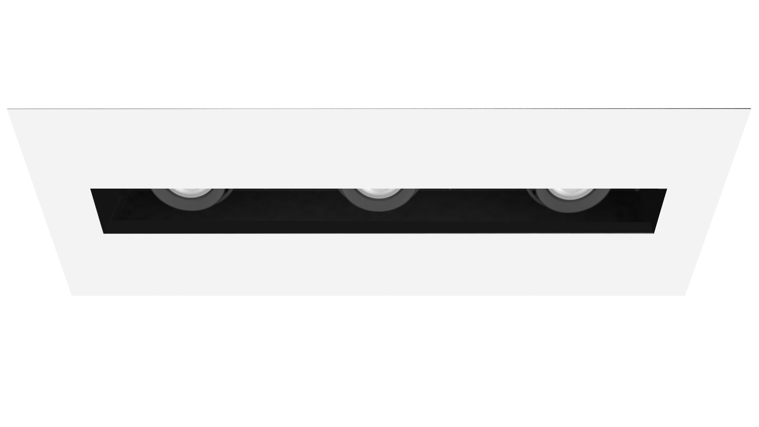 The new Amerlux Velato LED reveals concealed beams of