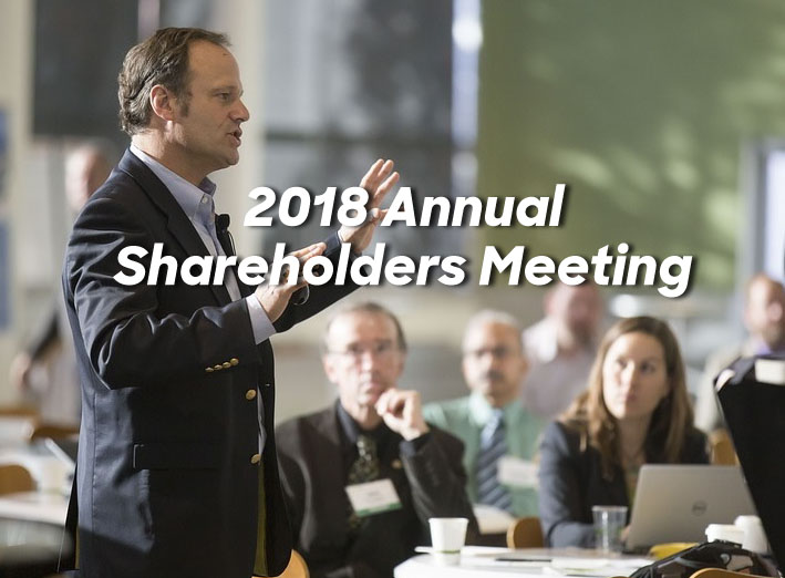 2018 Annual Shareholders Meeting