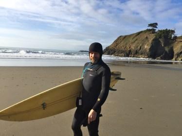 Surfing in Oregon