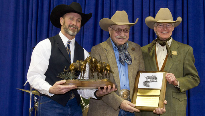 Dick Pieper Receives Western Horseman Award Western Horseman
