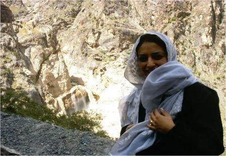 Roya sets out to interview farmers near Salang.