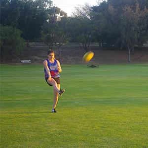 Sian Lucas, Heathridge Oval