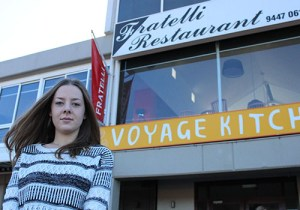 Voyage patron Georgia Duncan, 20, is disheartened by the structure plan