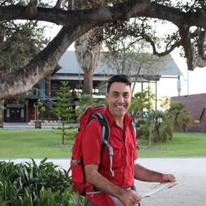 Lead guide Steve Sertis